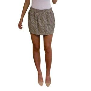 Diane von furstenberg size 4 tweed skirt